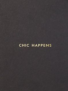 Chic Happens Card by kate spade new york