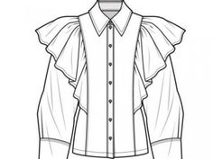 70 Super Ideas For Fashion Sketches Shirt Technical Drawings – fashion Zerschnittene Shirts, Cut Up Shirts, Shirt Sketch, Shirt Drawing, Drawing Drawing, Drawing Sketches, Dress Sketches, Drawing Tips, Fashion Design Drawings