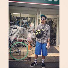 Tokyo i miss U. Missing U, I Miss U, Tokyo, Sporty, Bike, Shopping, Style, Fashion, Bicycle