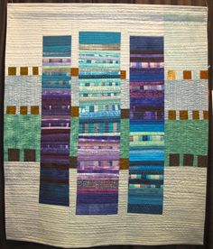 Standing Together by Patty Six. Not crazy about these colours but the arrangement would be good for improv blocks.