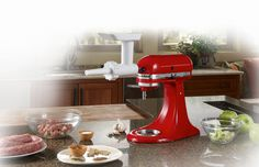 I want this i think!   Sausage Stuffer Kit | Stand Mixer Attachment