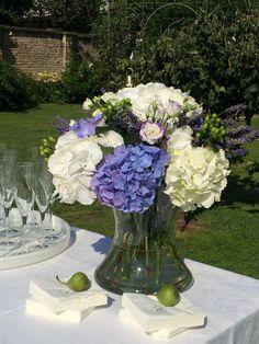 wedding#weddingflowers#fiori#composizioni#ortensie#lavanda#lisianthus#biancospinoevent