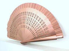 HandfächerhandfanAbanicoFächer in kupfer von pinkmagnolia2303