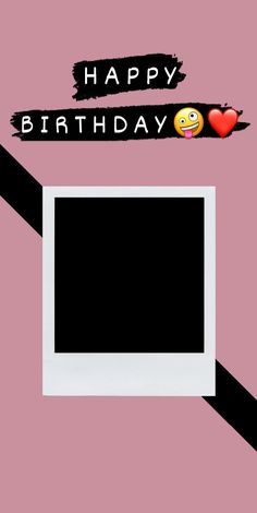 Happy Birthday Template, Happy Birthday Frame, Happy Birthday Posters, Happy Birthday Wallpaper, Birthday Frames, Birthday Captions Instagram, Birthday Post Instagram, Story Instagram, Instagram Quotes