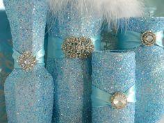 sweet 15 decorations | Wedding Centerpiece, Wedding Decorations, White, Shabby Chic Wedding ...