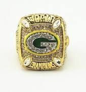 Green Bay Packers 2010 Super Bowl championship ring handmade custom jewelry gold plated
