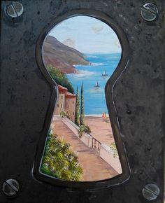 Keyhole by Carlotta