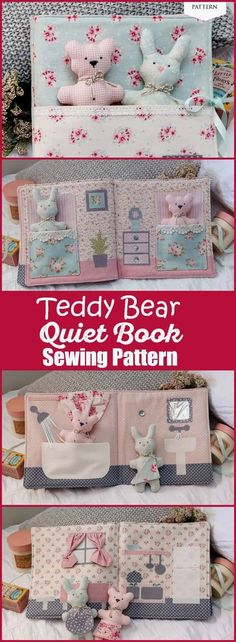 45 Super Ideas Sewing Toys For Baby Diy Quiet Books