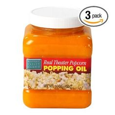 Wabash Valley Farms Real Theater Popcorn Popping Oil, 16-Ounce Jars (Pack of 3) $20.17