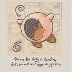 Another life lesson! You have the ability to transform, but you must never forget who you are. ( Credit to Juu- Hachi from Deviantart) #igersnintendo #nintendo #kirby