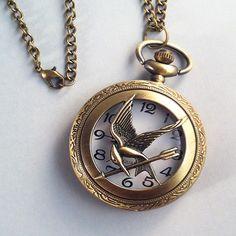 Reloj Sinsajo Grande - Los Juegos del Hambre via PulsiLand. Click on the image to see more!