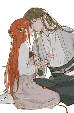 Anime Couples Drawings, Anime Couples Manga, Manga Anime, Anime Siblings, Cute Anime Coupes, Okikagu, Fairy Tail Ships, Anime Ships, Anime Art Girl