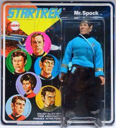 1974 Star Trek Mr. Spock Action Figure