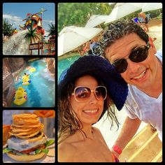Hoje foi dia de diversão com muitas guloseimas ☀️ #honeymoon #dubai #wildwadiwaterpark #love #sunshine