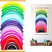 colours wall chart via collection of cool