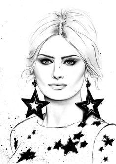 kornelia dębosz fashion illustrations - Пошук Google