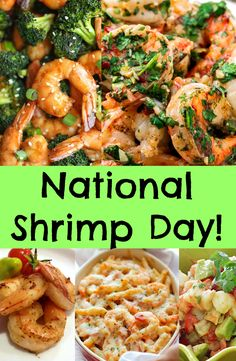 Happy National Shrimp Day! These are the perfect meal to try! These will tickle your taste buds and fill your belly! See recipes ---> http://www.discountqueens.com/may-10-is-national-shrimp-day/