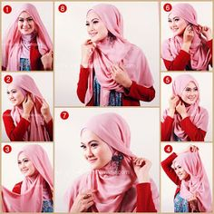 amiihong's blogs: Tutorial Hijab Simple