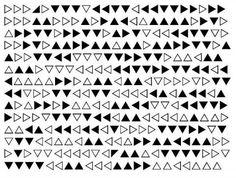 Geheimschrift - Dreiecke (Geocaching, Rätsel)
