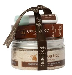 Be prepared to glow like the goddess you are. You will look and smell angelic, (halo not included). This ready-to-give set includes a sugar scrub and elixir in rich, creamy cocoa fragrance! Baking Ingredients, Cookie Dough, Barefoot, Venus, Bath And Body, Cocoa, Halo, Indie, The Past