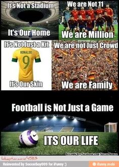 Soccer is my life!