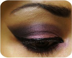 ♥ Smokey Plum Cat Eye ~ !Pink and leopard prints
