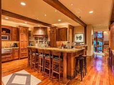 Owners loved the open kitchen area for entertaining their guests.