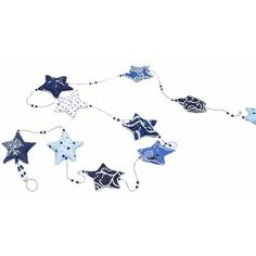 Embroidered Star Garland - Garlands & Streamers - Holiday - Products