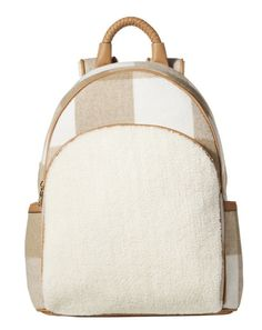 How adorable is this cozy backpack for Fall!?