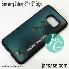 Imagine Dragons Cover Phone Case for Samsung Galaxy S7 & S7 Edge