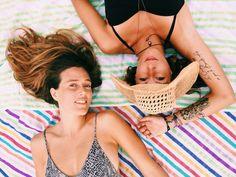 Beach vibes. Beach blanket. Ushu salvation. Beach Blanket, Bikinis, Swimwear, Fashion, Moda, Bathing Suits, Fashion Styles, Swimsuit, Fasion