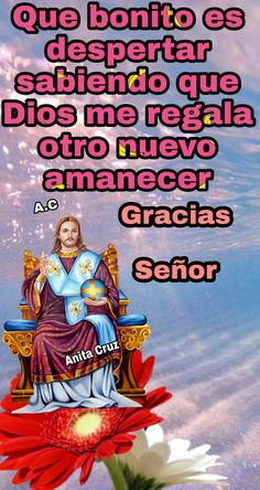 Spanish Prayers, Blessed Mother, Christian Quotes, Goku, Grande, Movie Posters, Christianity, Cute Good Morning Quotes, Religious Quotes