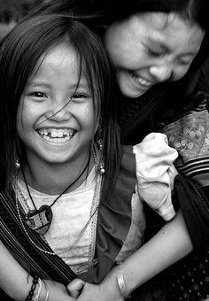 Vi and Chu in Sapa, Vietnam by Rob Kroenert
