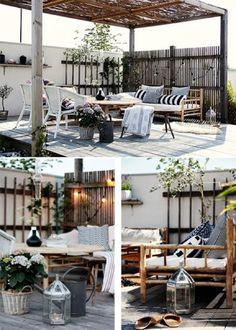 Perfect patio setting