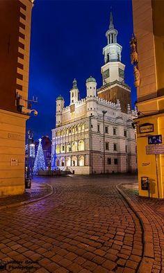 Beautiful Poznan City Hall - Poland