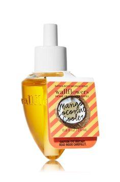 *Mango Coconut Cooler Wallflowers Fragrance Refill - Slatkin & Co. - Bath & Body Works