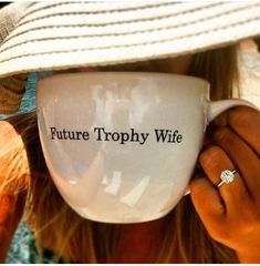future trophy wife.