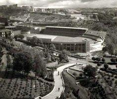 MUHTEŞEM YILLAR ... (Kişi başına 4km2'nin düştüğü yıllar) İnönü Stadı - 1954 ...
