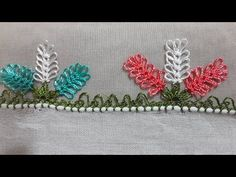 (15) Kolay ve gösterişli üçlü dut oyası yapımı sesli anlatımiğne oyası modeli örnegi ) ) - YouTube
