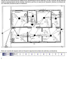 Resultado de imagen para plano de circuito (cañerias) con referencias Floor Plans, Diagram, Circuit, Home Plans, Floor Plan Drawing, House Floor Plans