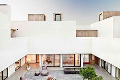 Grote moderne binnentuin | Interieur inrichting