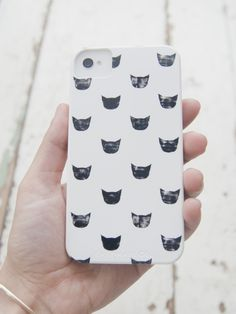 leah reena: **black cat signature iphone case**