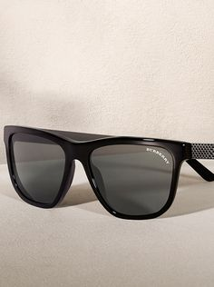 ecf532090782 Gunmetal square sunglasses from the Burberry Eyewear S S14 collection Burberry  Sunglasses
