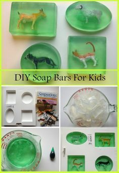 DIY Soap Bars Ideas For Kids