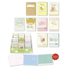 Adorable handmade baby cards