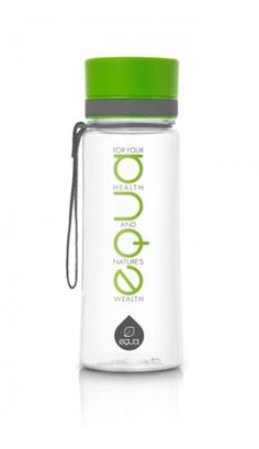 EQUA TXT collection is for people who live their lives by the EQUA slogan: For your health and nature's wealth. Empower yourself with the Green text bottle, which perfectly complements genuine people with a deep need for peace and harmony in their everyday life.