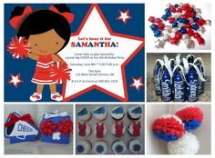 Cheerleader Party Ideas • Your Blissful Day