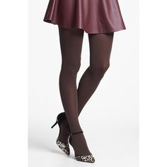 Nordstrom 'Everyday' Opaque Tights ($4.97) ❤ liked on Polyvore featuring intimates, hosiery, tights, opaque tights, nordstrom tights, nordstrom pantyhose, nordstrom hosiery and opaque stockings