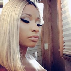 nikki minaj. love her makeup!