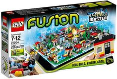 LEGO FUSION Best Christmas Toys for 8 Year Old Boys - Favorite Top Gifts for Boys Eight Years Old.